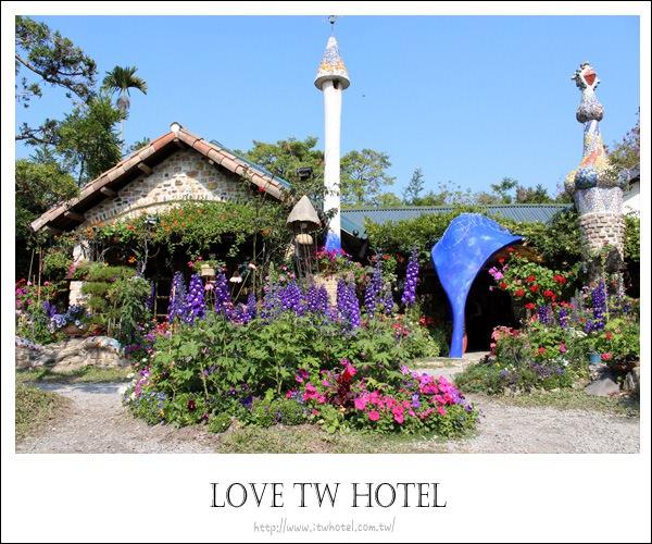 【南投餐廳】松濤園庭園歐式餐廳走進歐風的童話世界裡