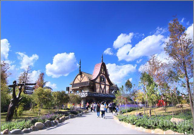 【嘉義景點】嘉義熊大庄觀光工廠 @ 小熊的歐風童話森林莊園