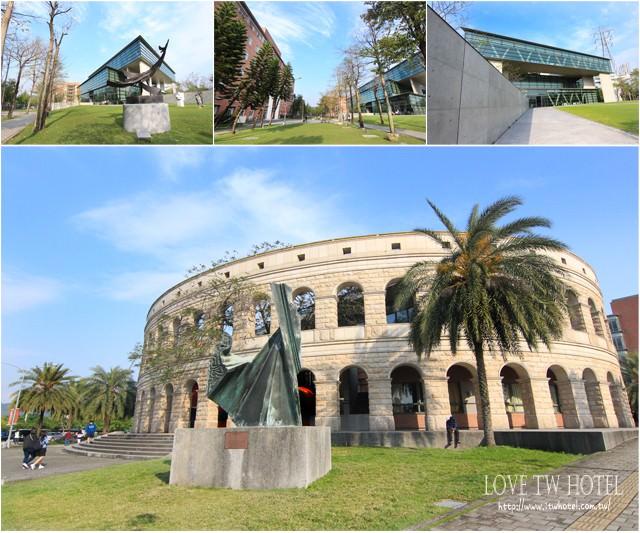 【台中景點】亞洲大學 @ 希臘古羅馬建築,偶像劇異國情調熱門場景