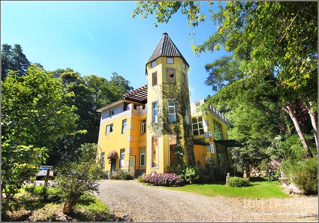 【南投民宿】蛙堡歐式鄉村民宿 @ 來到超夢幻的童話城堡住上一晚