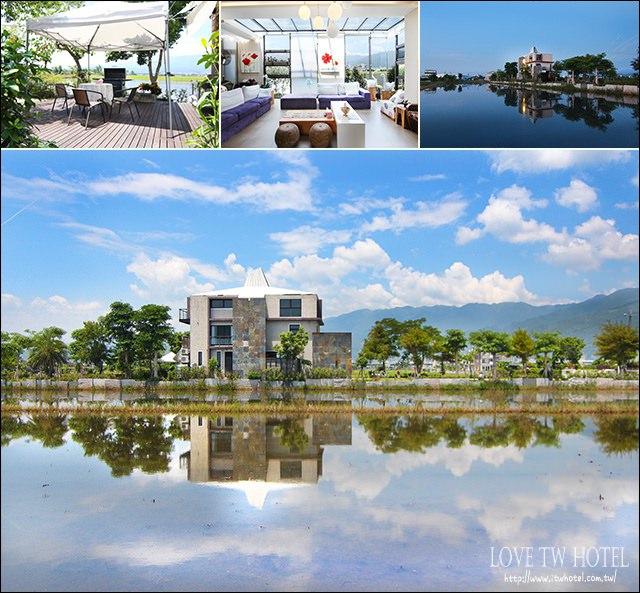 【宜蘭民宿】幸福99民宿 @ 住進稻田中漂浮的幸福城堡,感受這幸福的溫度